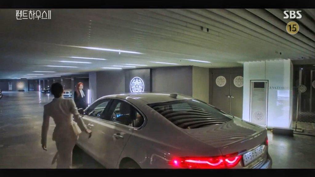 penthouse korean drama filming spots hotel parking